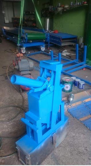 mesin press batako manual