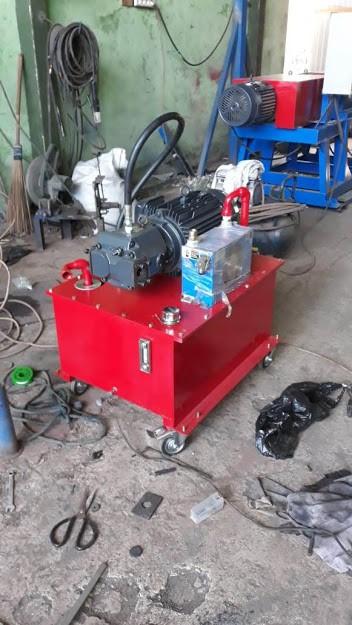 Mesin powerpack hidrolik