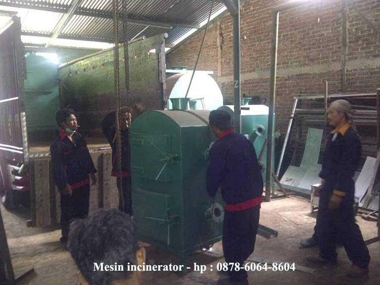 mesin incinerator