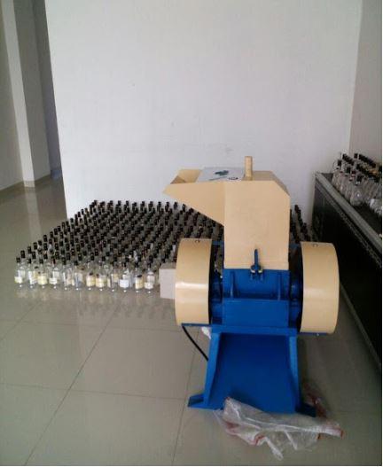 Mesin penghancur botol kaca
