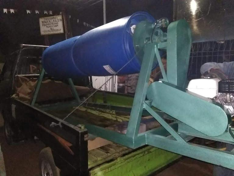mesin komposter