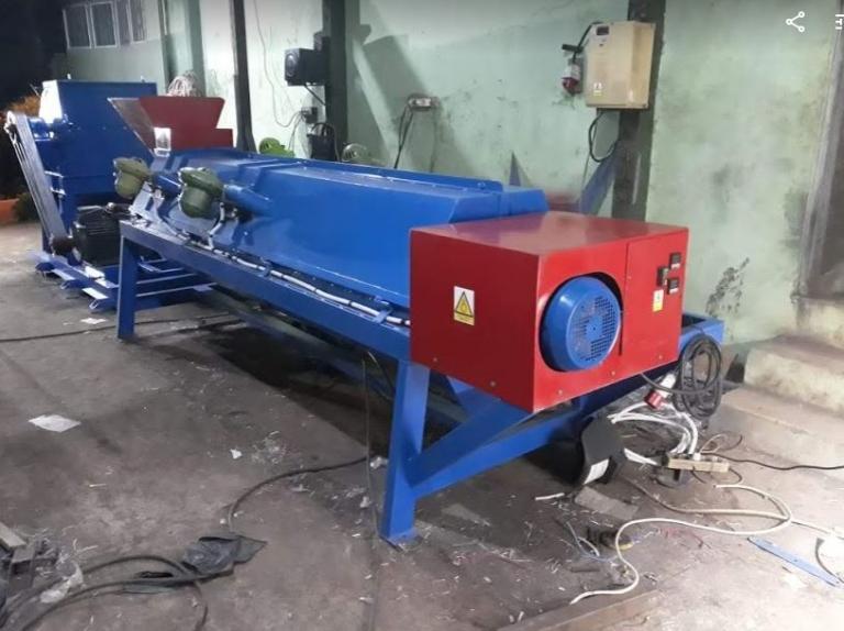 Mesin rotary drying