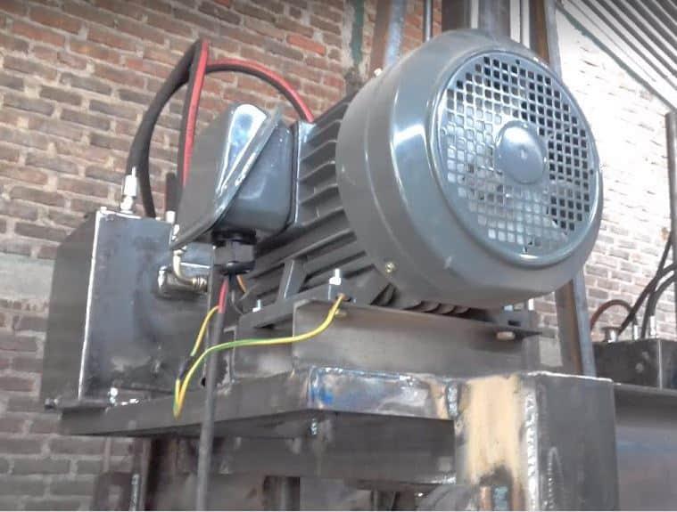 Cara membuat powerpack hidrolik