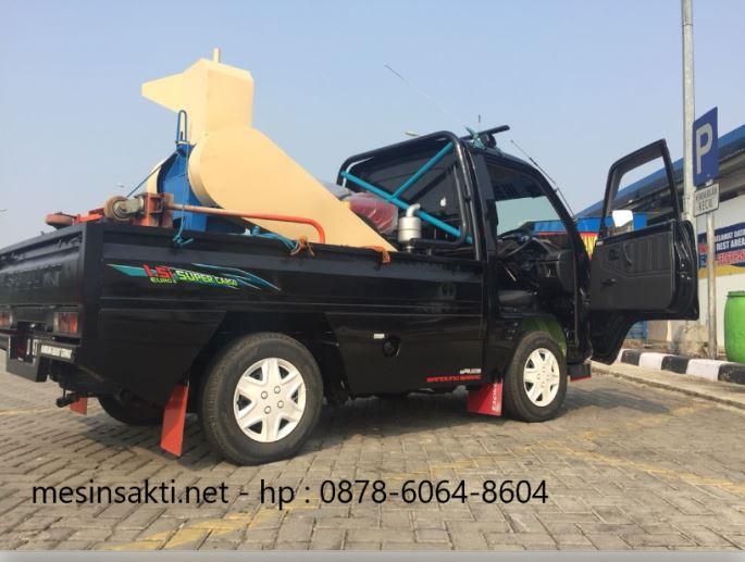 Mesin pencacah plastik dikirim ke Bekasi