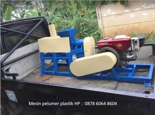 Mesin peleleh plastik