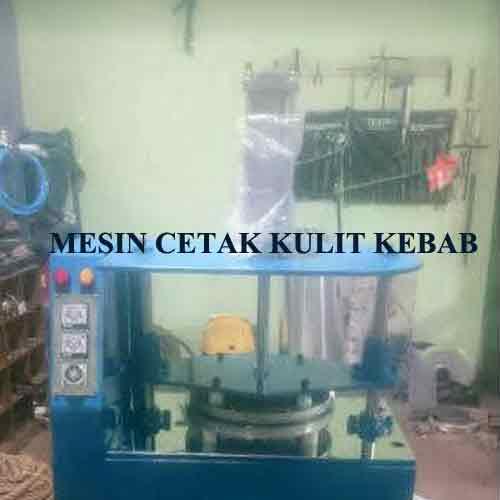 Mesin pembuat kulit kebab