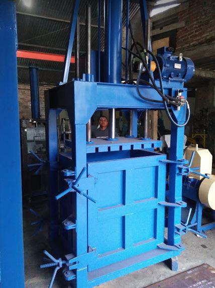 mesin press hidrolik 10 ton untuk sampah rongsokan ...