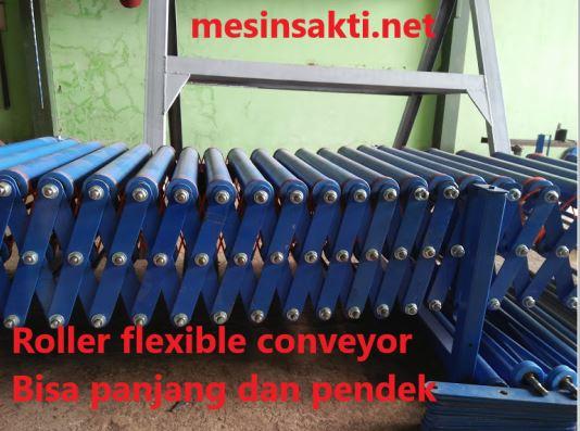 Mesin conveyor flexible