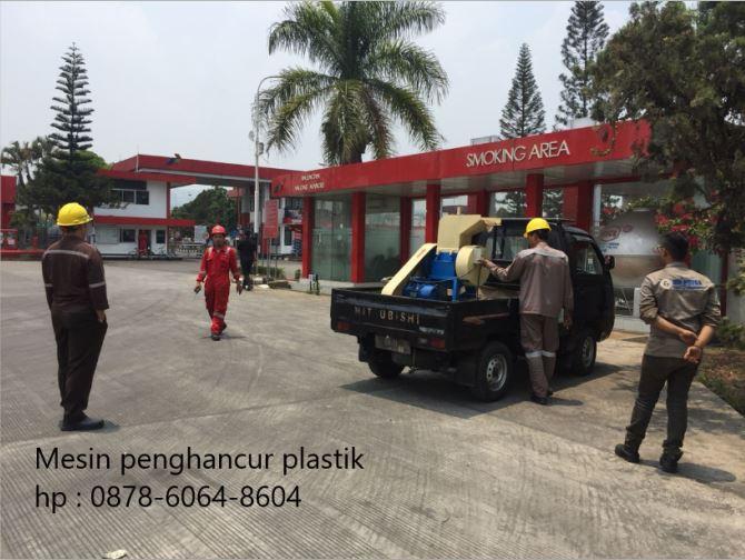 Mesin pencacah plastik di Padalarang Bandung