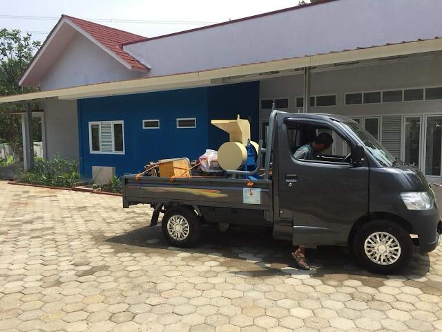 Pengiriman mesin pelumer plastik ke Bogor