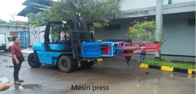 mesin press limbah