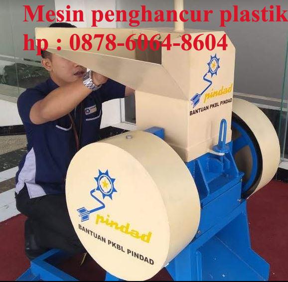 Mesin penghancur plastik eva