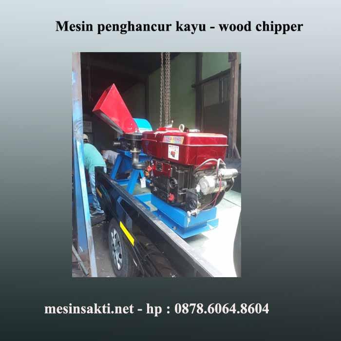 Cara membuat mesin penghancur kayu | Mesin penggiling kayu