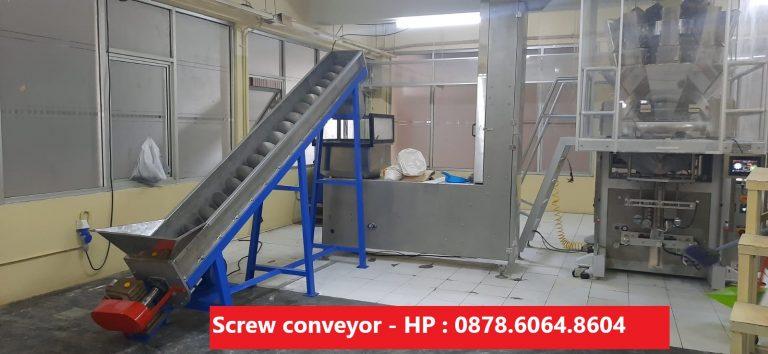 Mesin screw conveyor