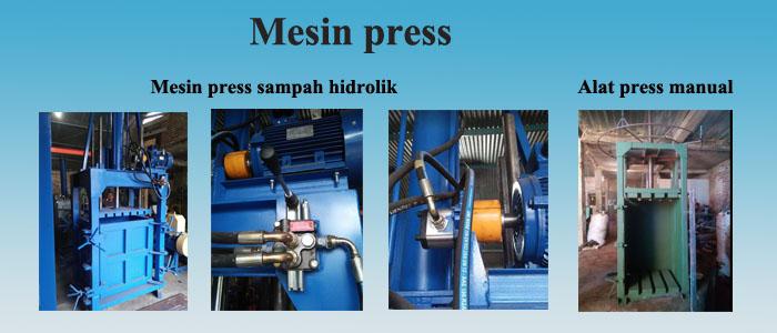 Homepage mesin press