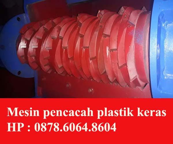 Mesin pemotong | Perajang plastik keras